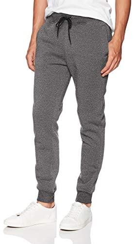 WT02 Men's Basic Jogger Fleece Pants at Men's Clothing store