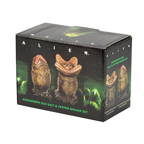 Alien Xenomorph EGG Salt & Pepper Shaker Set: Video Games