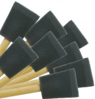"""2"""" Foam Brushes; 24 pcs. By Peachtree Woodworking - PW1184 - Household Bristle Paintbrushes"""