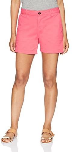 """Women's 5"""" Inseam Chino Short: Clothing"""