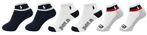 Polo Ralph Lauren Baby Boy's Sport Quarter 6-Pack (Infant): Clothing
