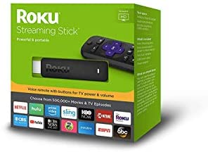 Roku 3800RW Streaming Stick (GEN6) with Voice Remote - Black: Electronics