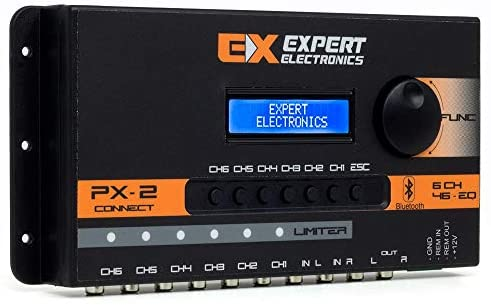 Banda Expert Electronics PX2 Connect 6 Way, Equalizer 46 Band Sound Processor: Car Electronics