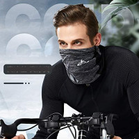 VOCALOL UV Protection Face Summer Dust Face Mask,Anti Air Pollution Smoke Cold Face Scarf Dust Mask Reusable Face Scarf Mask for Sport,Outdoor,Fishing,Cycling (Gray): Sports & Outdoors