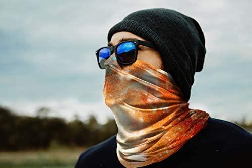 Bandana for Rave Face Mask Dust Wind UV Sun, Neck Gaiter Tube Mask Headwear, Motorcycle Face Mask for Women Men Face Scarf at Women's Clothing store