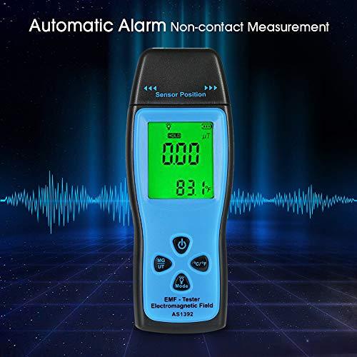 EMF Meter, KKmoon EMF Meter Handheld Mini Digital LCD EMF Tester Electromagnetic Field Radiation Detector Meter Dosimeter Tester Counter: : Industrial & Scientific