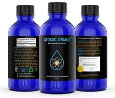 Suspended Solutions - Atomic ORMUS - 4oz - Monoatomic Gold Ormus - Memory AID, ENERGETICALLY Enhanced, REJUVENATING, Increased Energy, Stamina, Vitality - Gold, Platinum, Iridium: Health & Personal Care