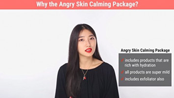 [KLAIRS] Angry Skin Calming Package, Acne care, Irritated skincare, toner, serum, vitamin c serum, blue cream, soothing cream, sample sachet : Beauty