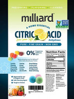 Milliard Citric Acid 5 Pound - 100% Pure Food Grade NON-GMO Project VERIFIED (5 Pound) : Spices And Seasonings : Grocery & Gourmet Food