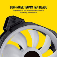 Corsair LL Series LL120 RGB 120mm Dual Light Loop RGB LED PWM Fan 3 Fan Pack with Lighting Node Pro: Computers & Accessories