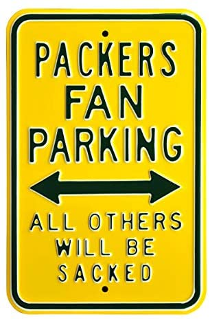 NFL Philadelphia Eagles Parking Sign, Indoor, Outdoor Football Wall Decor for Garage Signs, Man Cave Decor, and Metal Wall Sign Gifts for Men : Clothing