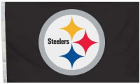 NFL Pittsburgh Steelers Logo Only 3-by-5 Feet Flag with Grommets : Outdoor Flags : Sports & Outdoors