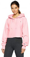 Champion LIFE Women's Reverse Weave Cropped Cut Off Hood: Clothing