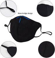 Reusable Mouth Msk, Unisex Washable Cotton Cycling Camping Travel Face Cover for Adults Men Women: Sports & Outdoors