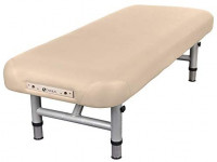 """EARTHLITE Physical Therapy Table YOSEMITE 30 – Extra Wide, Adjustable Low Height (20-26.5"""") Aluminum Exam & Massage Table, Face Cradle & Face Pillow (30x73""""), Agate: Sports & Outdoors"""