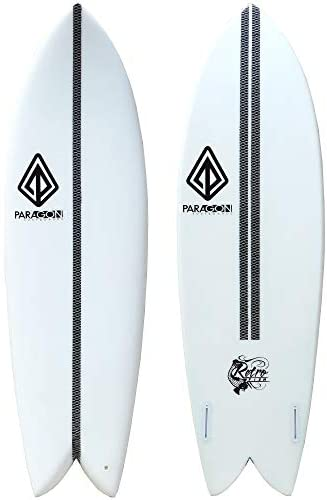 """Paragon Surfboards Retro Fish Surfboard 