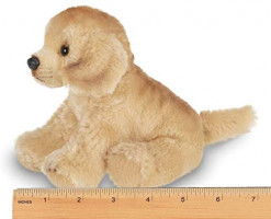 Bearington Lil' Goldie Small Plush Golden Retriever Stuffed Animal Puppy Dog, 6.5 inches: Toys & Games