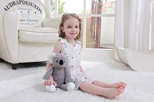 Apricot Lamb Toys Stuffed Grey Koala Animal Cozy Soft Plush Toys Baby Boy Girl(14 Inches): Toys & Games