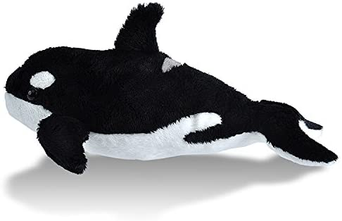 Wild Republic Orca Plush, Stuffed Animal, Plush Toy, Sea Animals, Gifts for Kids, Sea Critters 11 inches: Toys & Games