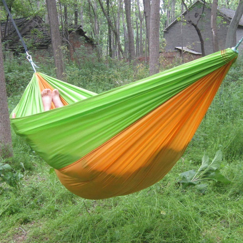 Double & Single with Tree Strap Camping  Hammock