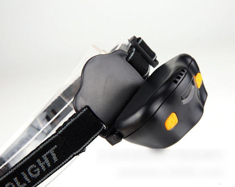Black Headlight - 165 Lumen, 3 x AAA Batteries Operated