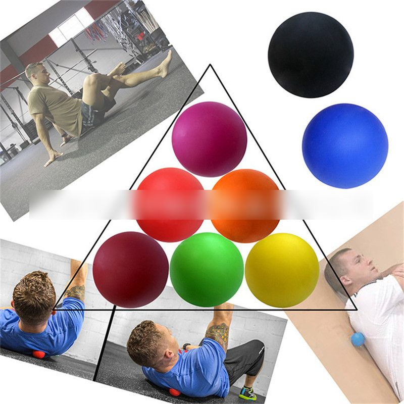 Silicone Yoga Massage Ball for Deep Muscle Relaxation