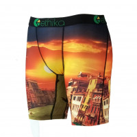 New Ethika Men's Underwear, Quick-drying Fabric, Multi-color Printed Sweatpants