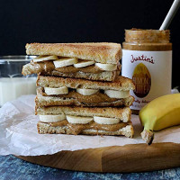 Justin's Honey Almond Butter, 16 oz : Grocery & Gourmet Food
