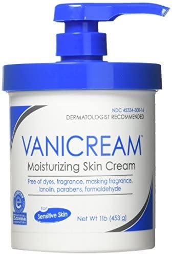 Vanicream Moisturizing Skin Cream with Pump Dispenser, 1 Pound: Health & Personal Care