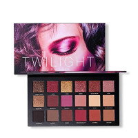 UCANBE 18 Colors Eyeshadow Makeup Palette Highly Pigmented Matte Shimmer Blending Eyes Shadow Cream Powder Daily Cosmetics Pallte (02) : Beauty