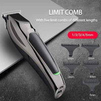 Professional Men Barber Hair Clippers 6 in 1, Cordless Rechargeable Clippers Haircut Cutter Shaver with Haircut Kit, Household - for Men, Father, Husband, Kids, Pet: Beauty