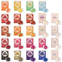 Mica Powder - 20 Colors Pigment Supply Pearl for Makeup/Lip Gloss/Cosmetic/Eyeshadow/Bath Bomb/Soap Making/Epoxy Resin Dye/Colorant DIY Craft