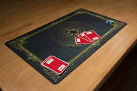 Inked Playmats Labyrinth Charlemagne Playmat Inked Gaming TCG Game Mat for Cards: Toys & Games