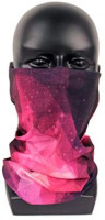 Reach Star Women Neck Gaiters Balaclava Cooling Dustproof Magic Breathable Face Scarf UV Protection for Outdoor (BR16) at Men's Clothing store
