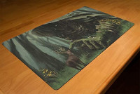 Inked Playmats Vigor Playmat Inked Gaming TCG Game Mat for Cards: Toys & Games