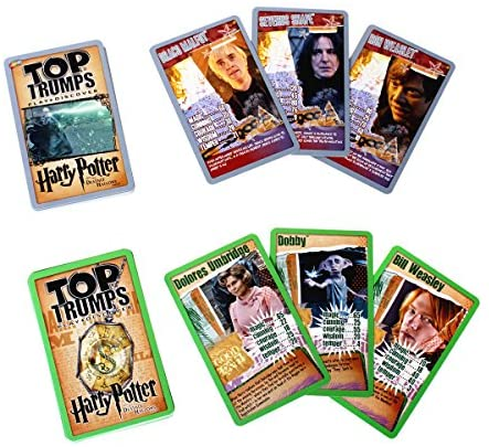 Harry Potter Gryffindor Top Trumps Collector's Tin Card Game: Toys & Games