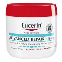 Eucerin Advanced Repair Cream - Fragrance Free, Full Body Lotion for Very Dry Skin - Use After Washing With Hand Soap - 16 oz. Jar : Beauty
