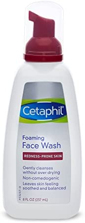 Cetaphil Redness Control Daily Foaming Face Wash, 8.0 Fluid Ounce: Beauty