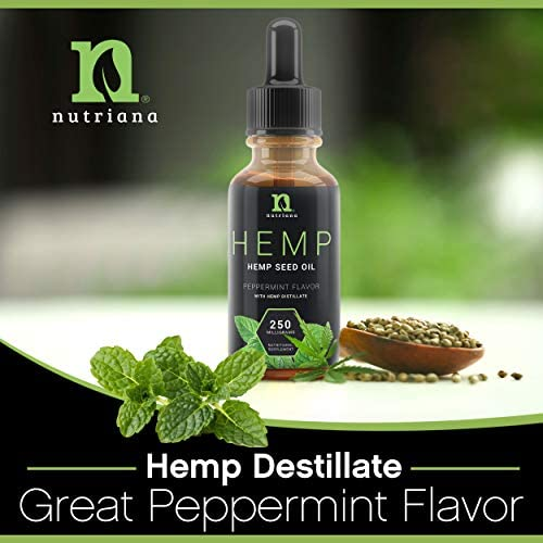 Best Hemp Oil for Sleep Aid – Natural Hemp Seed Oil Extract Drops for Sleep Support and Anxiety | Sleep Aid for Adults 250 mg of Hemp Oils: Health & Personal Care