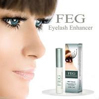 FEG Eyelash Enhancer Eye Lash Rapid Growth Serum Liquid 100% Original 3ml: Beauty