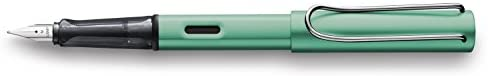 Lamy Lamy Al Star Fountain Pen, Blue/Green Extra Fine (L32-EF) : Office Products