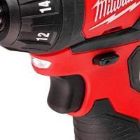 Milwaukee 2401-20 M12 12-Volt Lithium-Ion Cordless 1/4 in. Hex Screwdriver (Tool-Only): Home Improvement