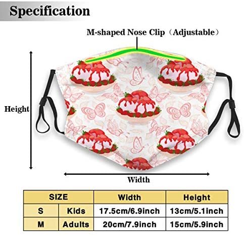 Mouth Mask, Toothless Smile Washable Reusuable Face Mask, Fashion Dust Mouth Mask Adjustable Earloop Polyester Mask: Clothing