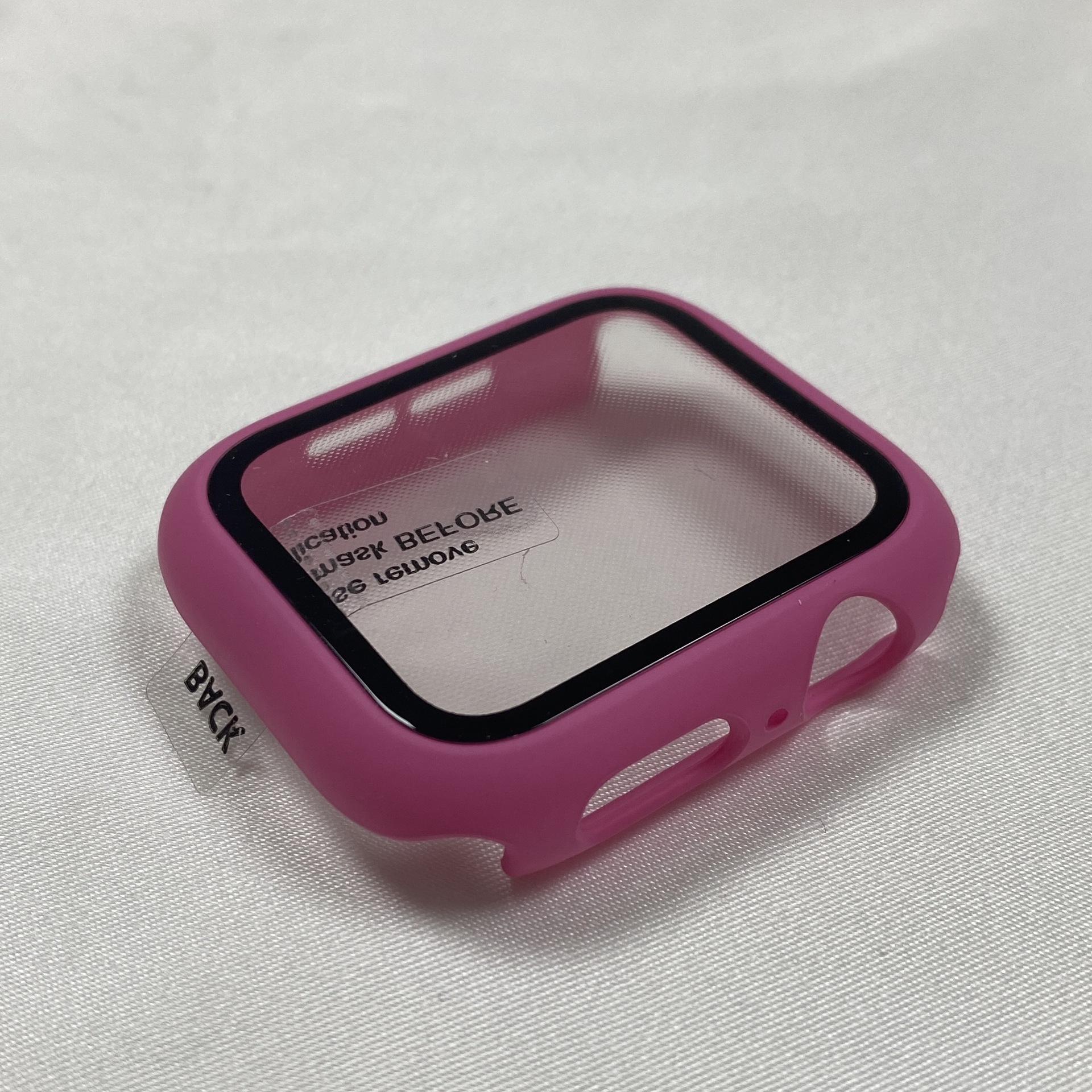 Apple Watch Shell Film Integrated For Iwatch 123456 Se Generation Matte All-inclusive Pc Shell Tempered Film Integrated