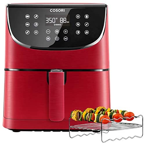 COSORI Air Fryer(100 Free Recipes Book), 1500-Watt Programmable Base for Air Frying, Roasting&Keep Warm, Electric Hot Oven Oilless Cooker,11 Cooking Presets, LED Touch Screen,3.7QT: Kitchen & Dining
