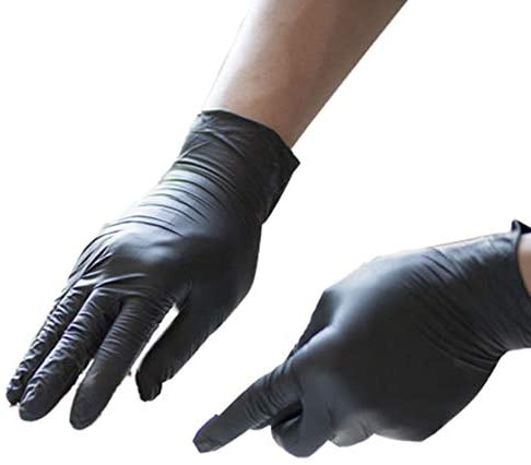 100pcs Vinyl Disposable Gloves Powder Latex Free Strong Food Nitrile Home Kitchen Safety Work Tool Gloves: Clothing