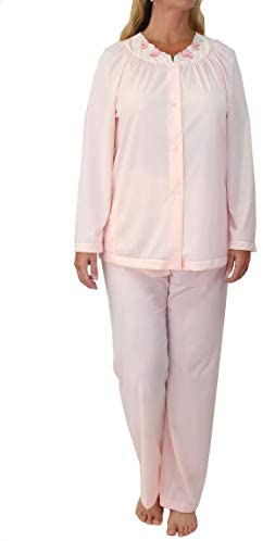 Shadowline Women's Petals Long Sleeve Pajama at Women's Clothing store