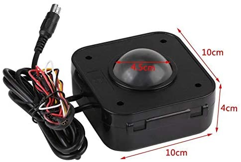 SPARIK ENJOY Arcade Trackball Mouse,4.5cm Lighted Illuminated Round LED Trackball Mouse PS/2 PCB Connector for Arcade: Computers & Accessories