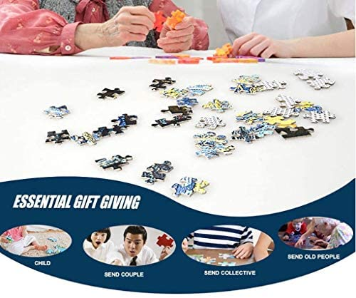 LLEYU Jigsaw Puzzle 1000 Piece Jigsaw Puzzles Intellectual Game Learning Education Decompression Toys for Adults Kids (AA14): Toys & Games
