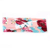 Adecco LLC 6 Pack Headbands for Women Boho Cute Elastic Hairbands Turban Stretchy Floral Style Criss Cross Head Wrap : Beauty